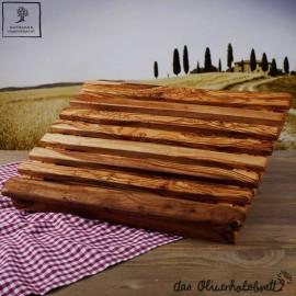 Brotschneidebrett groß mit Krümelfach