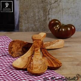spoon set - 4pcs olive wood