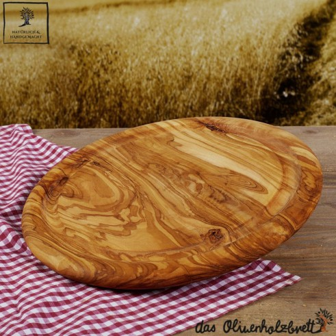 cutting board round, with juice groove