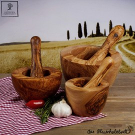 Classical style mortar incl. pestle